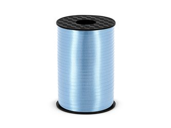 """Ribbon for balloons """"Blue"""" (5mm*225m)"""