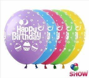 "SHOW™ 12"" ""Happy Birthday"" (10 pcs.)"