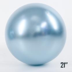 "Show™ 21"" CHROME,  Light Blue (1 pcs.)"