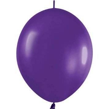 "BWS™ LInk-O-Loon 6"", Purple (25 pcs.)"