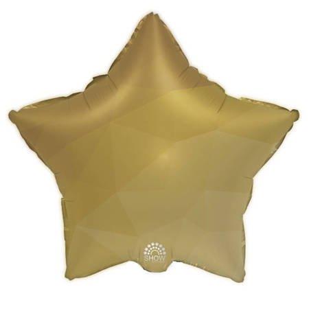 """Foil Star, Gold Gradient 18"""" (45cm.)"""