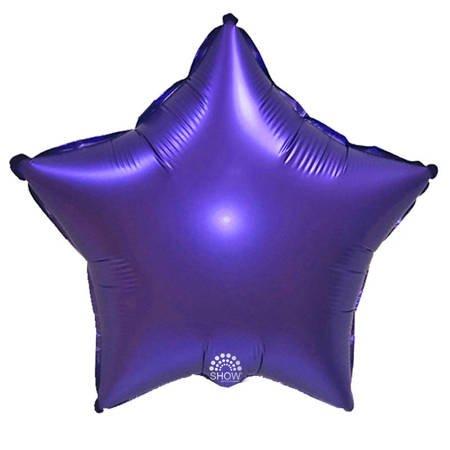 """Foil Star, Purple 18"""" (45cm.)"""