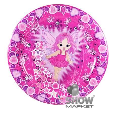 """Paper Plate """"Little Fairy"""" (6 pcs.)"""