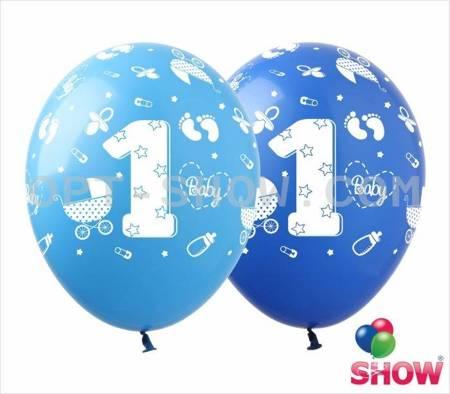 "SHOW™ 12"" ""1st Birthday"" (10 pcs.)"