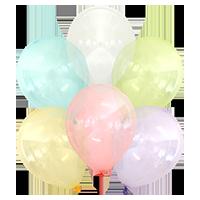 Kalisan™ 12 cali, MIX Crystal (25 szt./opak.)