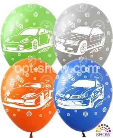 "Balony 12""  ""Samochody"" (10 szt.)"