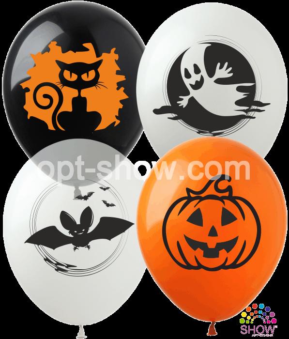 """Balony """"Halloween"""" (10 szt.)"""