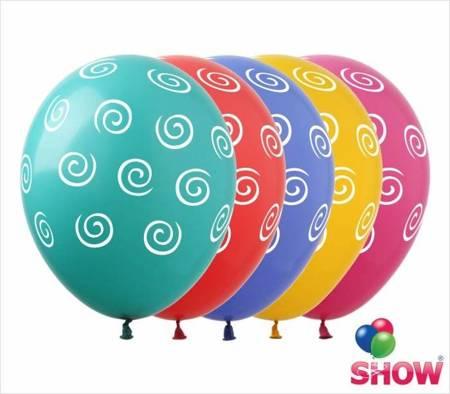 """Balony  """"Spirale"""" (10 szt.)"""