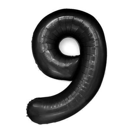 "Cyferka ""9"" Czarna (100cm.)"