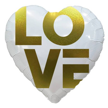 """LOVE""  18"" (45cm.)"